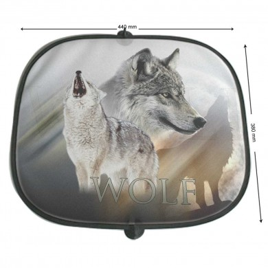 Pare soleil Animaux Sauvages loup
