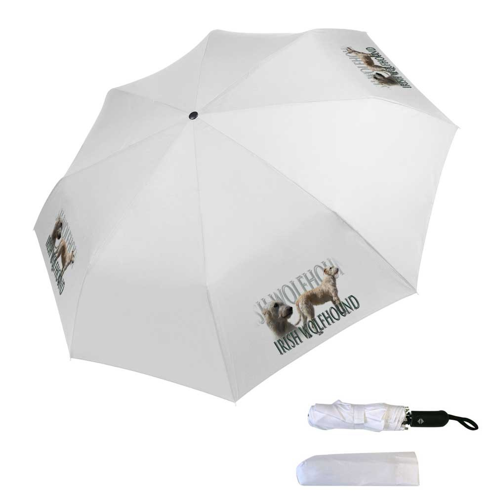 Parapluie pliable irish wolfhound froment