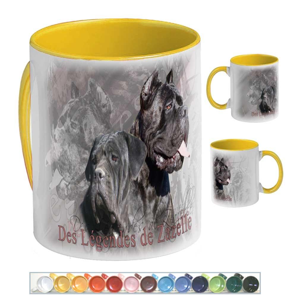 Mug Chien cane corso zazelle