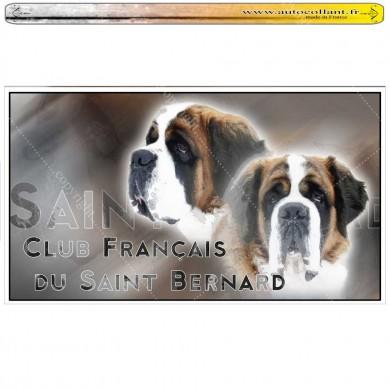 club du st bernard sur Autocollants panoramiques