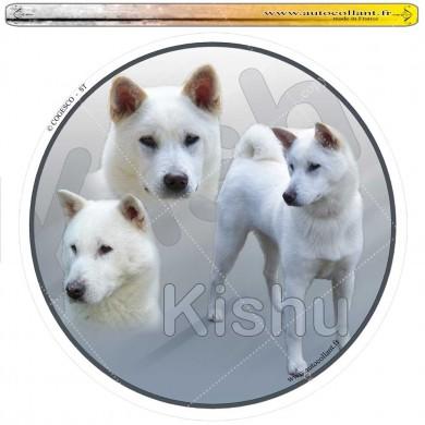 Autocollant kishu circulaire
