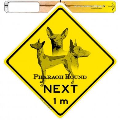 Autocollants roadsign personnalisés - Pharaoh Hound
