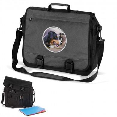 Cartable en trois couleurs Appenzeller Sennenhund
