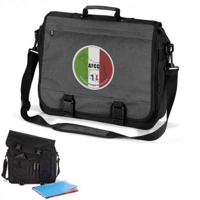 Cartable en trois couleurs logo club cane corso