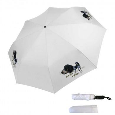 Parapluie pliable petit bleu de gascogne