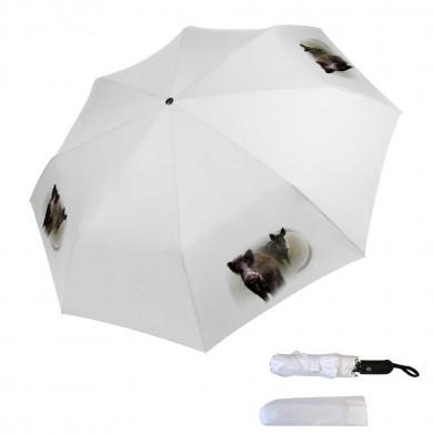 Parapluie pliable sanglier