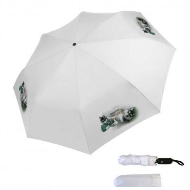 Parapluie pliable siberian husky baby dog