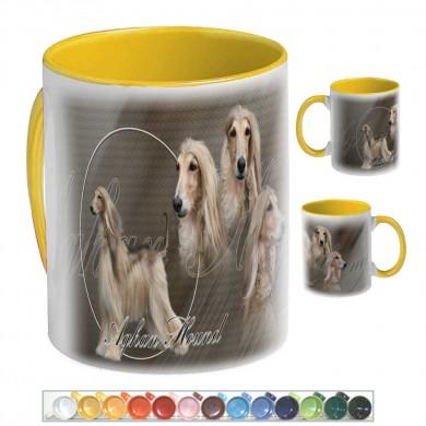 Mug Chien afghan hound