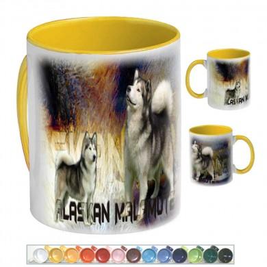 Mug Chien alaskan malamute