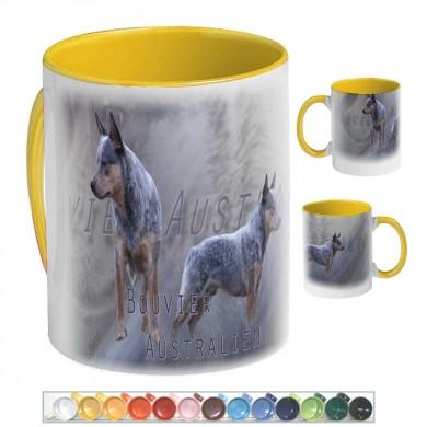 Mug Chien australian cattle dog 01