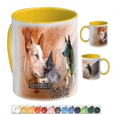 Mug Chien australian cattle dog