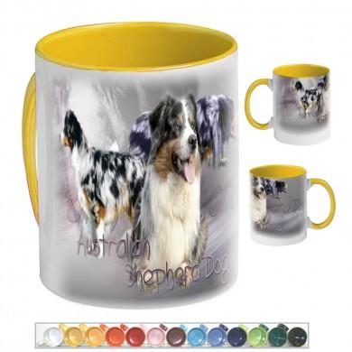 Mug Chien australian shepherd