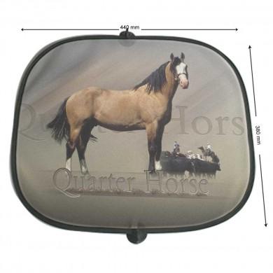 Pare soleil Cheval quater horse cowboy
