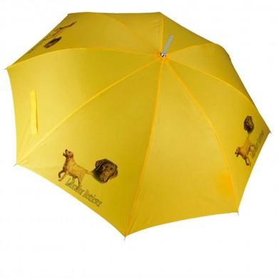 Parapluie Chien  labrador retriever chocolat