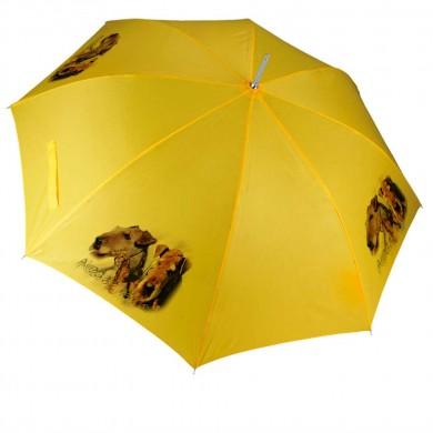 Parapluie Chien airedale terrier