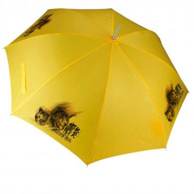 Parapluie Chien akita inu brunge