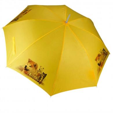 Parapluie Chien akita inu multicolor