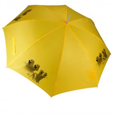Parapluie Chien montagne des pyrenee
