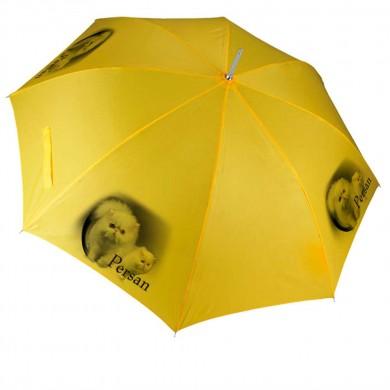 Parapluie Chat persan blanc