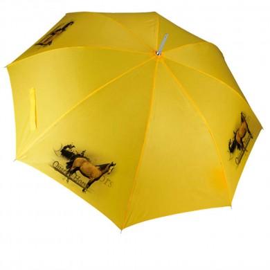 Parapluie Cheval quater horse cowboy