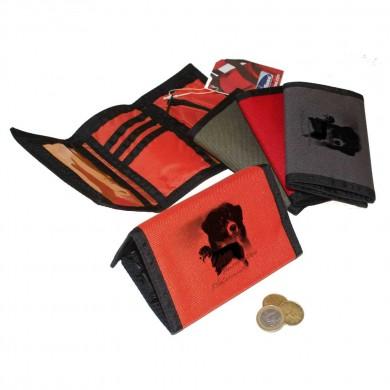 Petit portefeuille Australian shepherd Tricolor