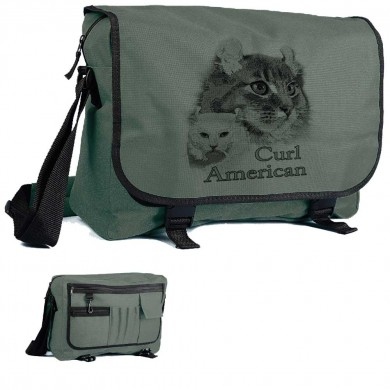 Sacoche polyester American Curl