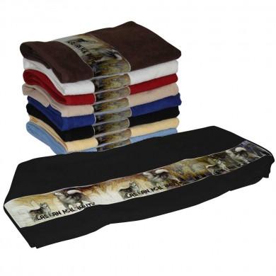 Serviette coton alaskan malamute pour Chien