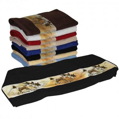 Serviette coton basenji pour Chien