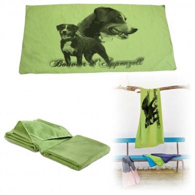 Serviette microfibre de bain appenzeller sennenhund