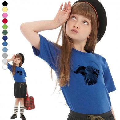 T-shirt  blaireau enfant en 11 couleurs disponibles