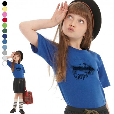 T-shirt  Carpe enfant en 11 couleurs disponibles