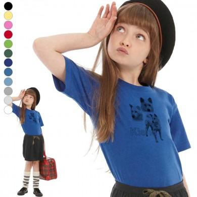 T-shirt  Kishu enfant en 11 couleurs disponibles