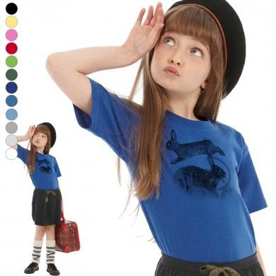 T-shirt lapin de garenne enfant