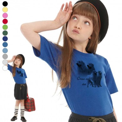 T-shirt  Montagne des pyrenee enfant en 11 couleurs disponibles