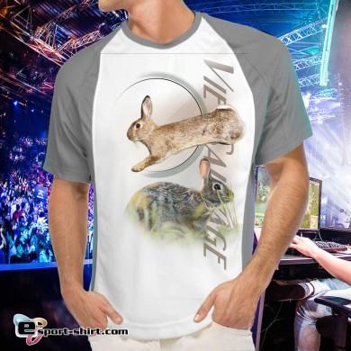 Tee-shirt de lapin de garenne respirant