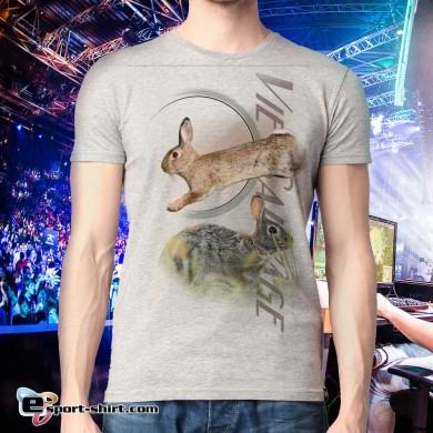 Tee-shirt de lapin de garenne