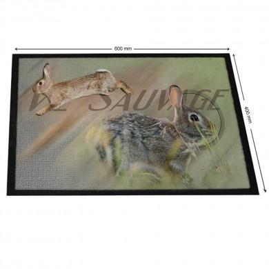 Tapis de Gibier lapin de garenne