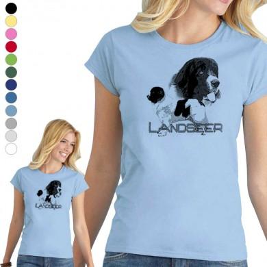 T-shirt  Landseer pour femme en 8 couleurs disponibles