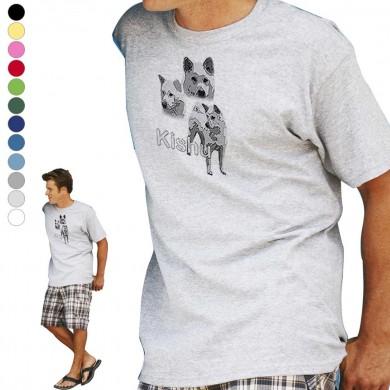 T-shirt  Kishu pour homme en dix couleurs disponibles