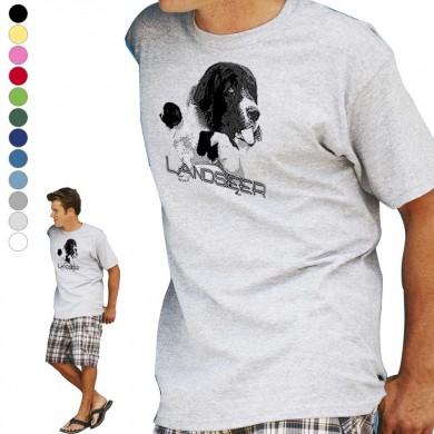 T-shirt  Landseer pour homme en dix couleurs disponibles