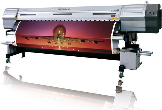 imprimante roland encre pigment pour impression d'autocollants