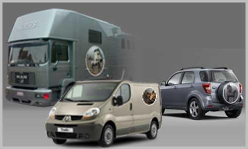 adhésif circulaire pour véhicule de toutes tailles
