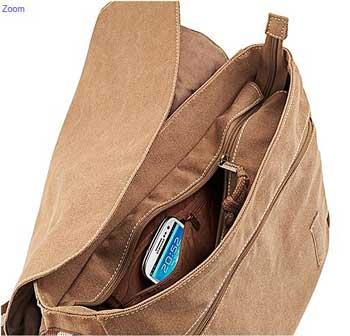 Poche intérieur sac bandoulière