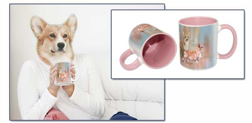Des tasses et mugs en couleurs