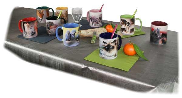 mug de chiens et chats