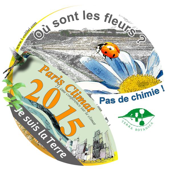 autocollant COP21