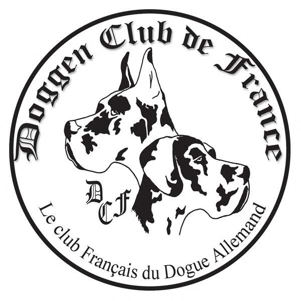 autocollant doggen club de france