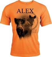 T-shirt classique polyester pour chasser